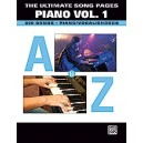 Various - The Ultimate Song Pages Piano -- A To Z - Piano/Vocal/Chords