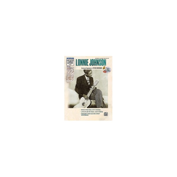 Grossman,Stefan (editor) - Stefan Grossmans Early Masters Of American Blues Guitar - Lonnie Johnson