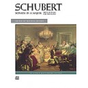 Schubert Ed Hinson - Sonata In A Major, Op. 120