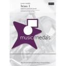 Music Medals Brass 1 Options Practice Book