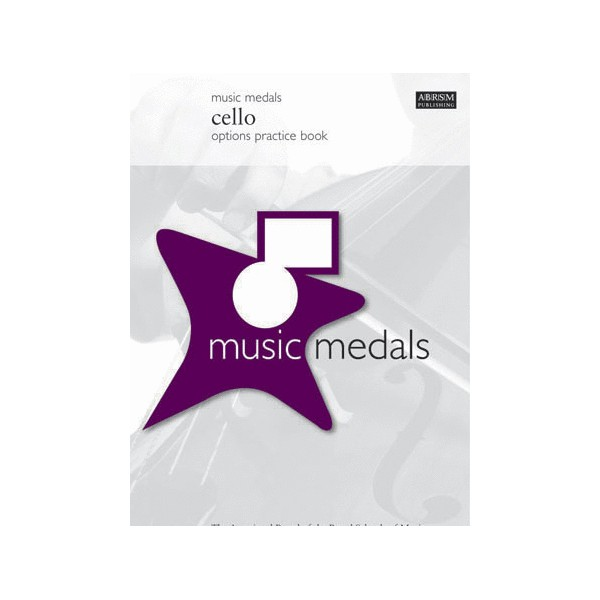 Music Medals Cello Options Practice Book