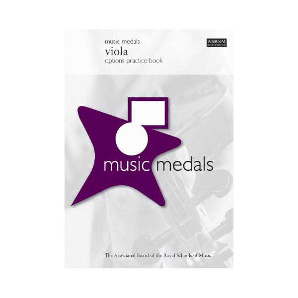 Music Medals Viola Options Practice Book