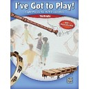 Brophy, Tim - Ive Got To Play! - Eight Pieces for Orff Ensemble