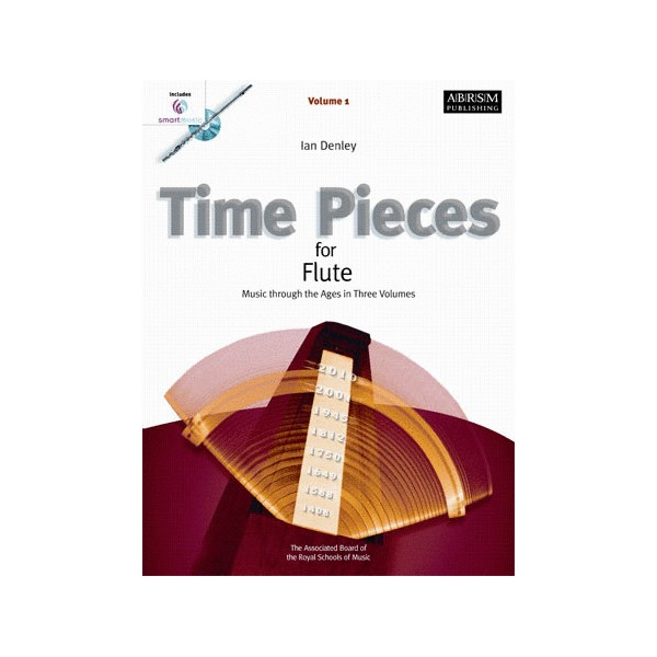 Time Pieces for Flute  Volume 1 with SmartMusic CD-Rom