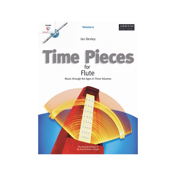 Time Pieces for Flute  Volume 2 with SmartMusic CD-Rom