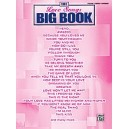 Various - The Love Songs Big Book - Piano/Vocal/Chords