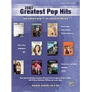 Various - 2007 Greatest Pop Hits - Piano/Vocal/Chords