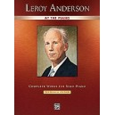 Anderson,Leroy - Leroy Anderson At The Piano - Complete Works for Solo Piano