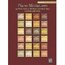 Labenske, Victor - Piano Miniatures In 24 Keys - 24 Short Solos in All Major and Minor Keys