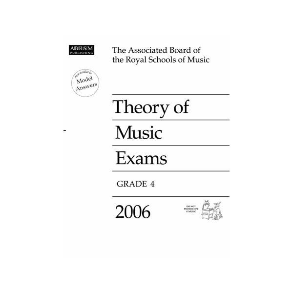 Theory of Music Exams  Grade 4  2006
