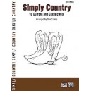 Coates,D, (arranger) - Simply Country - 18 Current and Classic Hits (Easy Piano)