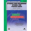 Student Instrumental Course Studies And Melodious Etudes For French Horn - Level I