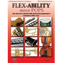 Lopez, Victor (arranger) - Flex-ability More Pops -- Solo-duet-trio-quartet With Optional Accompaniment - Alto Saxophone/Bariton