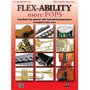 Lopez, Victor (arranger) - Flex-ability More Pops -- Solo-duet-trio-quartet With Optional Accompaniment - Trumpet/Baritone T.C.