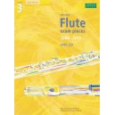 Selected Flute Exam Pieces 2008-2013  Grade 3 Score  Part & CD