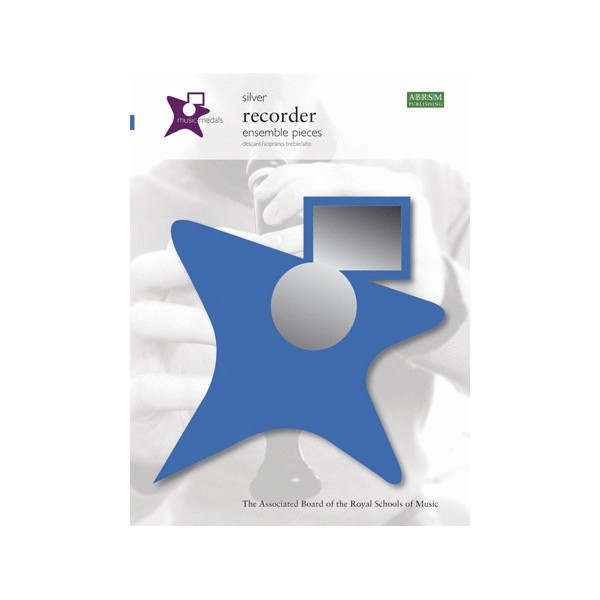 Music Medals Silver Recorder Ensemble Pieces (10-Pack)