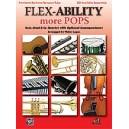Flex-ability More Pops -- Solo-duet-trio-quartet With Optional Accompaniment - Trombone/Baritone/Bassoon/Tuba