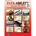 Flex-ability More Pops -- Solo-duet-trio-quartet With Optional Accompaniment - for All Instruments