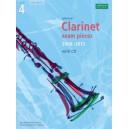 Selected Clarinet Exam Pieces 2008-2013  Grade 4  Score  Part & CD