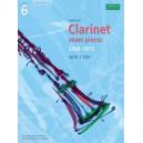 Selected Clarinet Exam Pieces 2008-2013  Grade 6  Score  Part & CD
