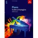 ABRSM Piano Scales & Arpeggios, Grade 5 (Five)