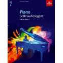 ABRSM Piano Scales & Arpeggios, Grade 7 (Seven)