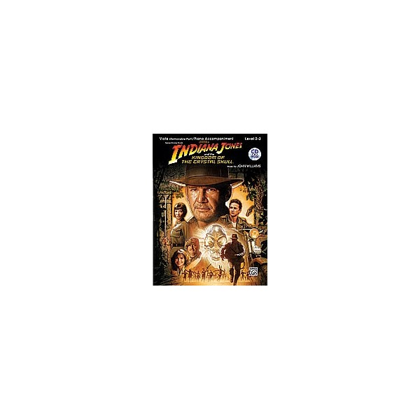 Williams, John - Indiana Jones And The Kingdom Of The Crystal Skull Instrumental Solos For Strings - Viola