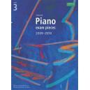 Selected Piano Exam Pieces 2009-2010  Grade 3
