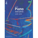Selected Piano Exam Pieces 2009-2010  Grade 4