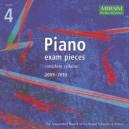 Piano Exam Pieces 2009-2010  Grade 4 CD