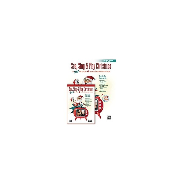 See, Sing & Play Christmas For Guitar - The easiest way to learn 7 essential Christmas songs on guitar