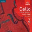 Cello Grade 4 exam pieces 2010-2015 CD ONLY