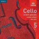 Cello Grade 5 exam pieces 2010-2015 CD ONLY