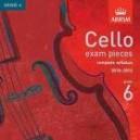 Cello Grade 6 exam pieces 2010-2015 CD ONLY