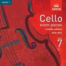 Cello Grade 7 exam pieces 2010-2015 CD ONLY