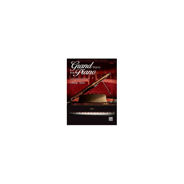 Bober,M - Grand Duets For Piano - 8 Early Elementary Pieces for One Piano, Four Hands