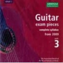 Guitar exam pieces  complete syllabus from 2009  Grade 3 CD ONLY
