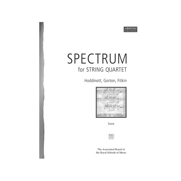 Spectrum for String Quartet  Score