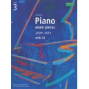Selected Piano Exam Pieces 2009-2010  Grade 3 with CD
