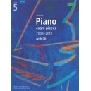 Selected Piano Exam Pieces 2009-2010  Grade 5 with CD