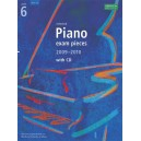 Selected Piano Exam Pieces 2009-2010  Grade 6 with CD