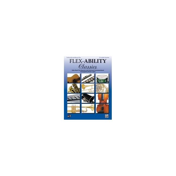 Lopez,V - Flex-ability Classics -- Solo-duet-trio-quartet With Optional Accompaniment - Trombone/Baritone/Bassoon/Tuba