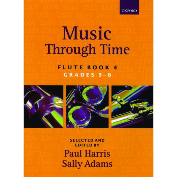 Music through Time Flute Book 4 - Harris, Paul  Adams, Sally