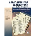 Althouse, J - Great American Songwriters For Solo Singers - 12 Contemporary Settings of Favorites from the Great American Songbo