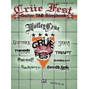 Various - Crüe Fest Guitar Tab Songbook - Authentic Guitar TAB
