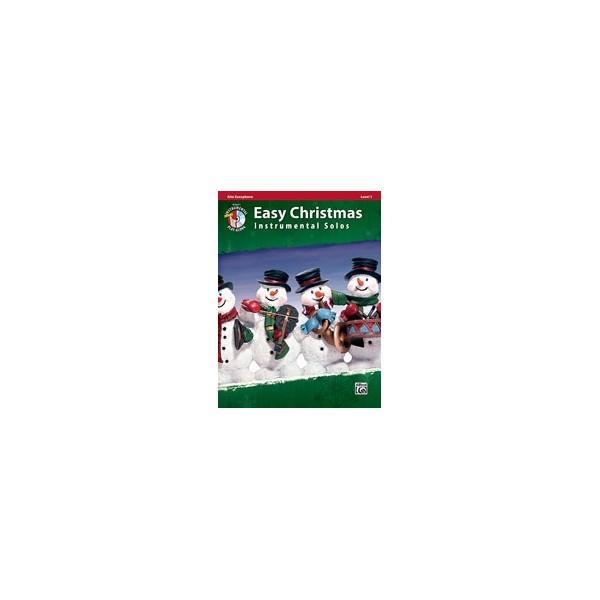 Easy Christmas Instrumental Solos, Level 1 - Alto Sax