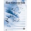 Alfreds Music Manuscript Book - 10-Stave