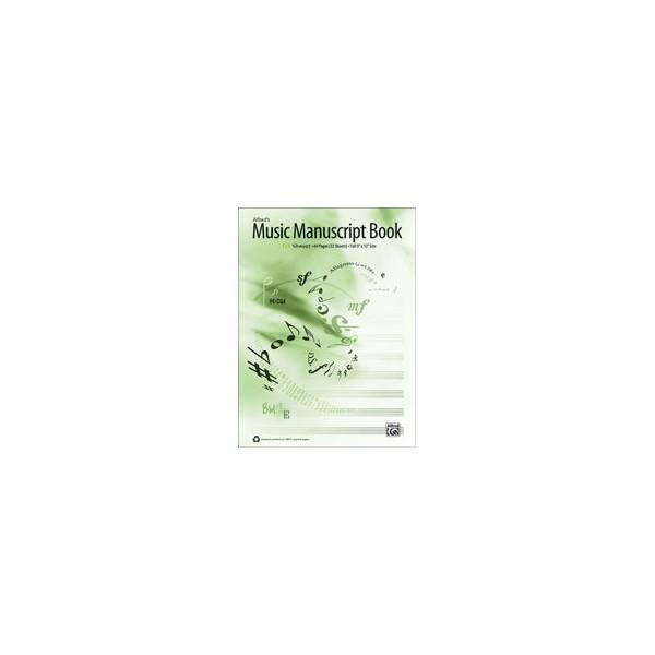 Alfreds Music Manuscript Book - 12-Stave