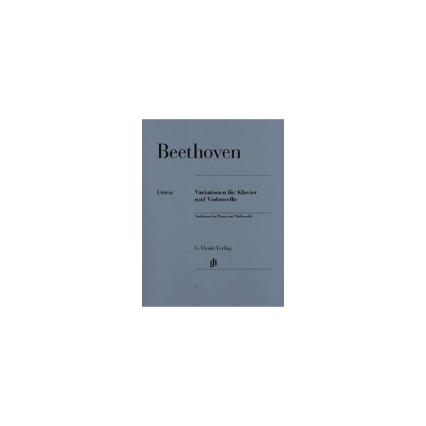 Beethoven, Ludwig van - Variations for Piano and Violoncello