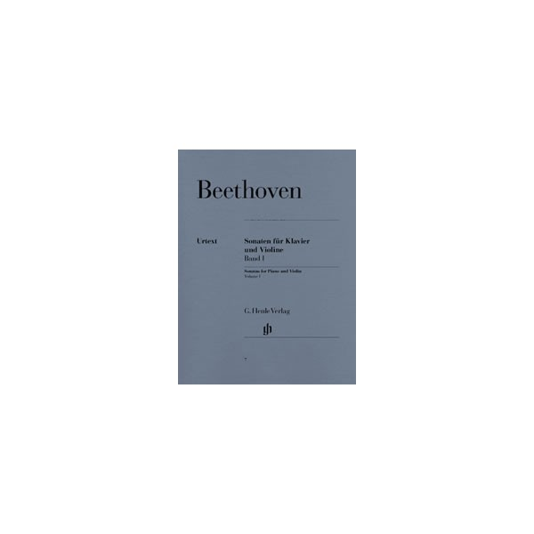 Beethoven, Ludwig van - Sonatas for Piano and Violin Vol. 1